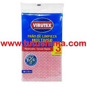 Paño Virutex Multiuso 3 un