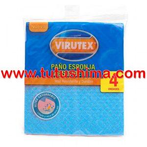 Paño Virutex Esponja Absorbente x 4 un