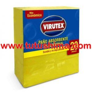 Paño Virutex Absorbente x 20 un