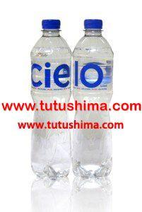 Agua Cielo Botella Personal