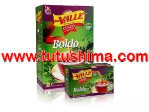 Filtrante Del Valle Boldo 100 Sobres