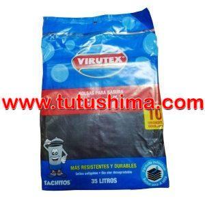 Bolsa para Basura Virutex 35 lt. x 10 u.