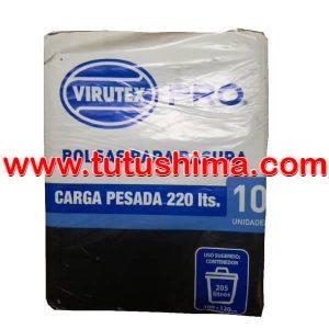 Bolsa para Basura Virutex 220 lt. x 10 u