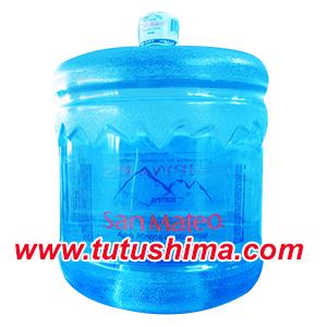 Bidones de agua mineral San Mateo 21 litros retornable