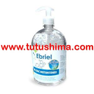 Alcohol Gel Ebriel Antiséptico 1 Litro sin dispensador