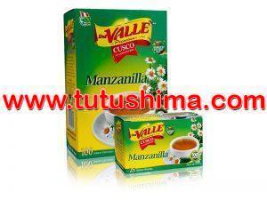 Filtrante Del Valle Manzanilla 100 Sobres