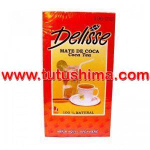 Filtrante Mate De Coca Delisse x 100 Sobres