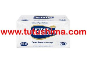 Papel Toalla Elite  Extra Blanca Doble h 200 hojas