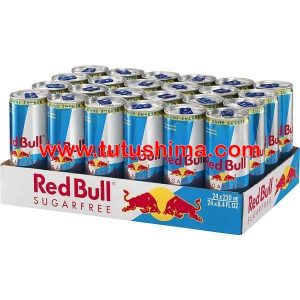 Red Bull Sugar Free 250 ml Caja x 24 Uni