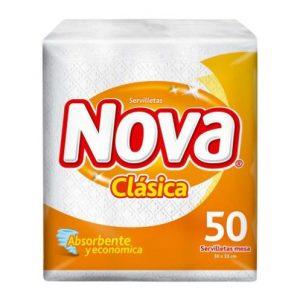 Servilleta Nova Clasica 50 Uni