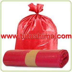 Bolsa de Basura Rojo Paquete 100 Uni