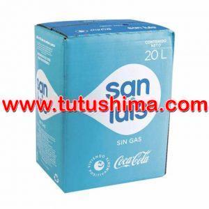 Agua de mesa San Luis Caja  20 litros