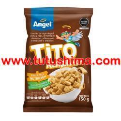 Angel Hojuelas de Maíz Almoh-Chocolate Bolsa 110 gr
