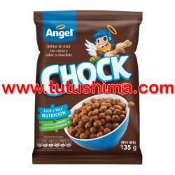 Angel Hojuelas de Maíz Chock Bolsa 135 gr
