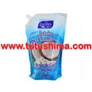 Jabón Liquido Ballerina Aceite de Coco y Jazmin 1000 ml