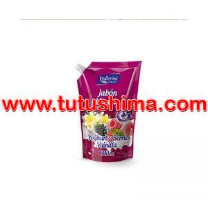 Jabón Liquido Ballerina Yoghurt y Berries Vainilla 340 ml