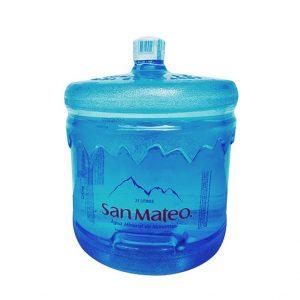 Envase + Agua Mineral San Mateo 21 Litros