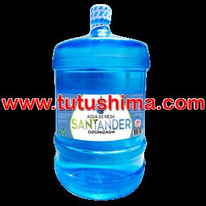 Envase + Agua Santander 20 Litros