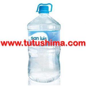 Agua San Luis Sin Gas Botella 7 Litros