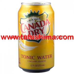 Canada Dry Tonic Water  Lata 355 ml cj x 24 U