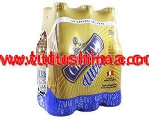 cerveza cristal 330 ml pack x 6 botellas