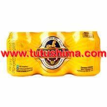 cerveza cristal 355 ml pack x 6 latas