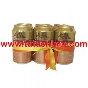 cerveza cusqueña nacional 355 ml pack x 6 latas