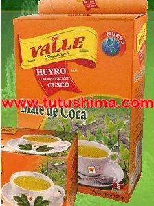 del valle mate de coca tea