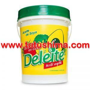 Aceite Deleite Vegetal de Soya 20 lts