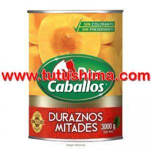 Durazno Dos Caballos 3000 gr