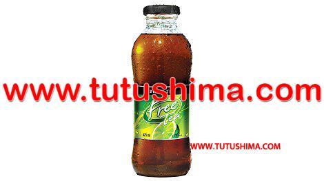 rehidratante free tea 375 ml pqt x 12 botellas corporacion tutushima