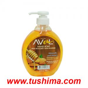 Jabon Liquido Aval Almendras 400 ml