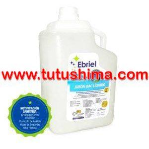 Jabón Líquido Ebriel Antibacterial Aroma Natural 4 Lt