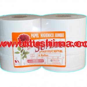 Papel Higienico Sumac Paramonga 440 mts pqt x 6 Rollos