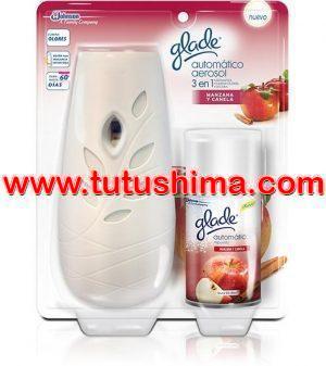 Ambientador Glade manzana y canela Automático 270 ml