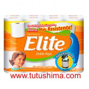 Papel Higiénico Elite doble hoja x 20 Und