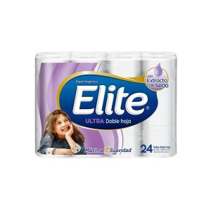 Papel Higiénico Elite Ultra Doble Hoja x 48 Rollos