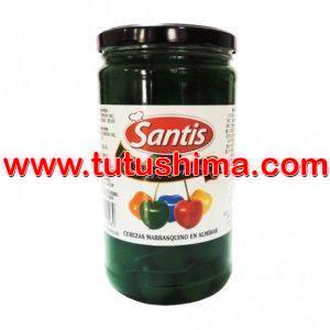 Cereza Santis Marraschinos x 1 kg Verde Con Tallo