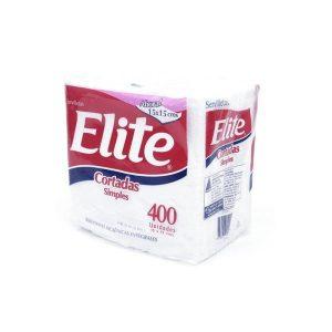 Servilleta Elite Cortada x 400 U