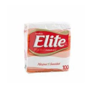 Servilleta Elite Doblada En 2 X 100 U