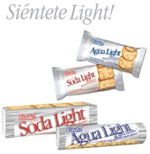 Galleta Soda Light Costa Pack x 6 pqt