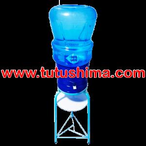 Base Metálica + Surtidor Azul + Bidón de agua San Luis 20 lt