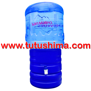 Surtidor + Envase + Bidón de agua mineral San Mateo 21 litros