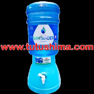 Surtidor + Envase y Bidón de agua Santander 20 L